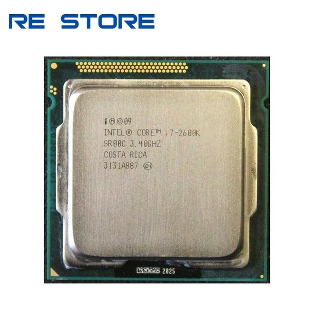 معالج وحدة المعالجة المركزية Intel Core i7 2600K 3.4GHz SR00C رباعي النواة LGA 1155