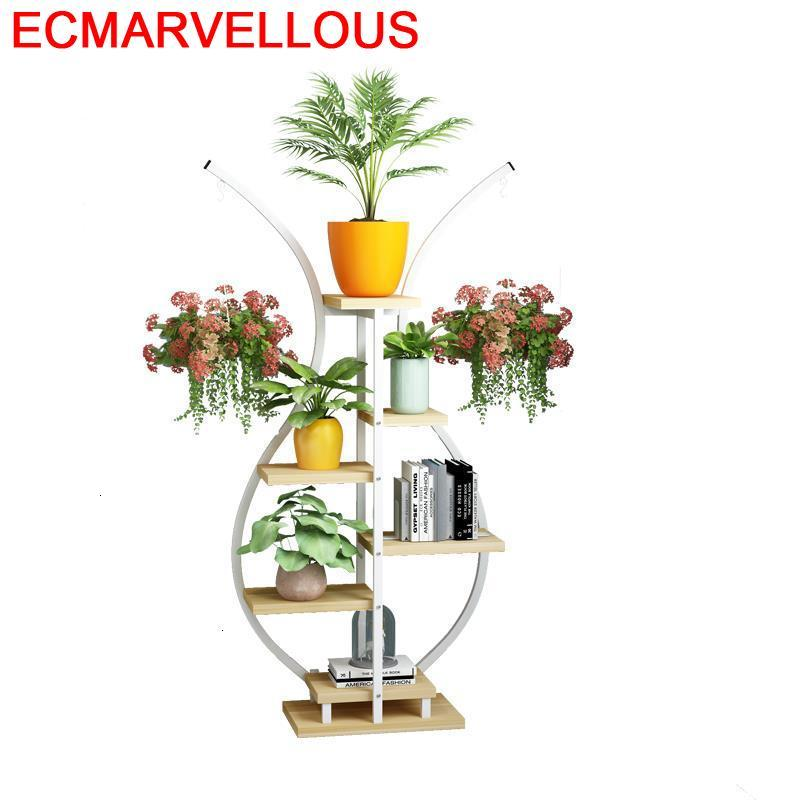 Macetas Garden Shelves For Mueble Para Plantas Indoor Pot Outdoor Balcony Flower Shelf Stojak Na Kwiaty Dekoration Plant Stand