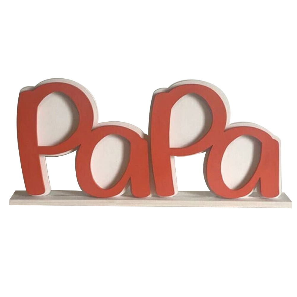 Father'S Day Photo Frame PAPA DAD Creative Letter Picture Acrylic Holder Of Home Desktop Decor Ornament Perfect Send Father Gift