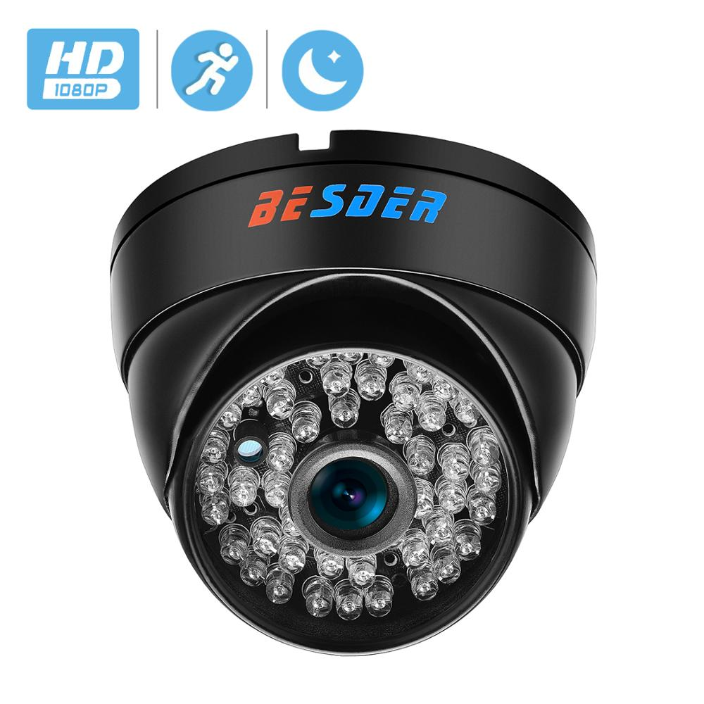 BESDER Wide Angle 2.8mm Vandal Proof 1080P IP Camera Dome Waterproof 48 PCS IR LED Indoor Outdoor Network IP Camera IR Cut ONVIF