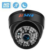 BESDER domo de cámara IP impermeable, ángulo amplio, 2,8mm, a prueba de vandalismo, 1080P, 48 Uds., IR, LED, cámara IP de red interior y exterior, corte IR, ONVIF