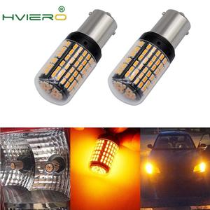 2X 1156 BA15S BAU15S 7440 P215W Led Tail Bulb Brake Lamp Auto Reverse Lamp Daytime Running Light White Yellow DC 12V 24V(China)