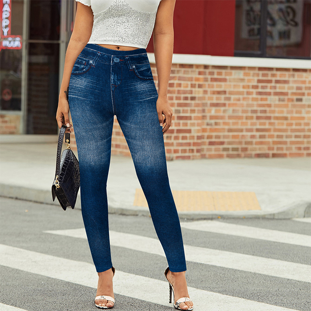 Denim Fitted Jeggings 10