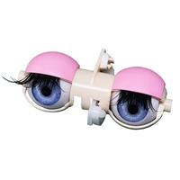 Blyth Doll Eyes Pink Blue Yellow Silver Eyelids Whole Sleepy Eyes with Lengthening Eyelashes Finished Product Doll Accessories