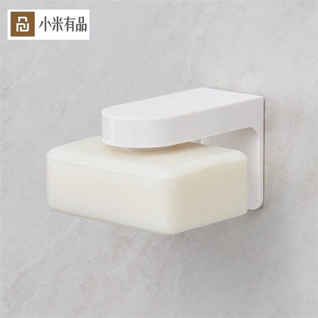 Youpin HL soporte magnético para jabón para el hogar, contenedor dispensador, accesorio de pared, plato de jabón de adherencia para accesorios para el baño