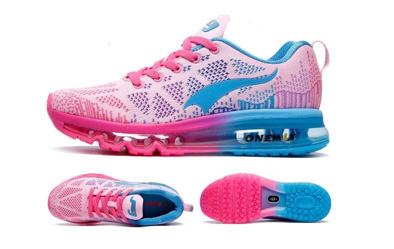 تنفس Onemix النسيج أحذية 24