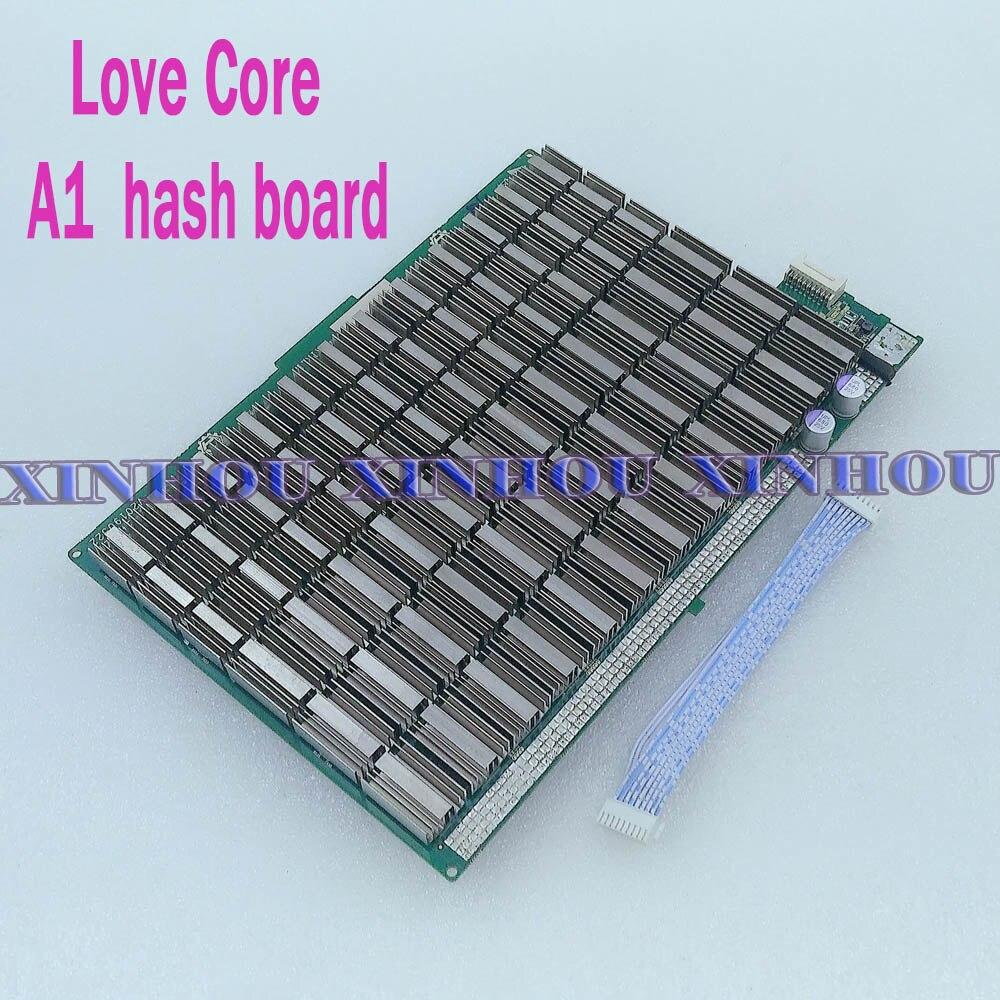 BTC BCH mineur amour noyau A1 panneau de hachage SHA256 Asic bitcoin mineur remplacer pour mauvais amour noyau A1 partie