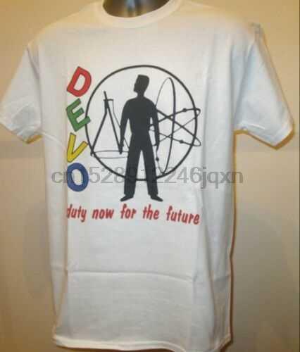 Devo Duty Now T Shirt New Wave Music W240 Talking Heads Blondie Kraftwerk Prince