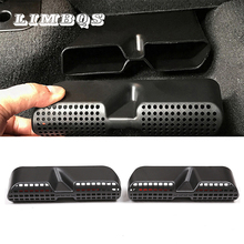 Car rear aeat air conditioning vent cover for BMW X3 X4 F25 F26 series outlet lid bottom vents casing