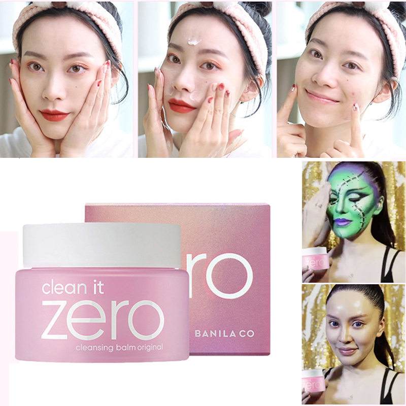 Korea cosmetic Banila skin face make up Cleansing balm makeup remover clean pore cleanser skincare cleaner 100ml Korean cleanser