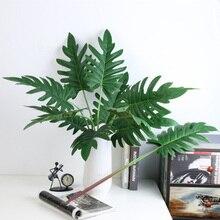 Имитация искусственного растения искусственные листья украшения для сада офиса вечерние свадебные