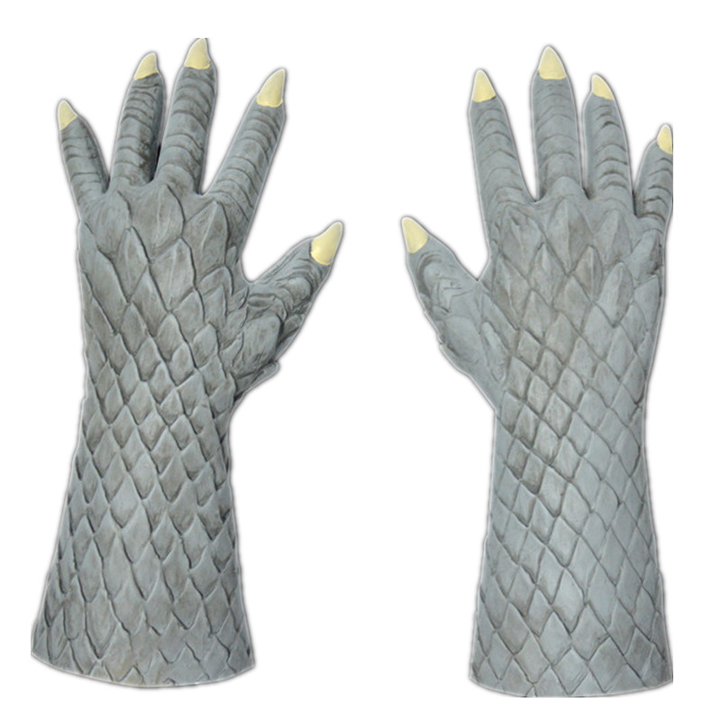 恶魔花岗岩色手套1