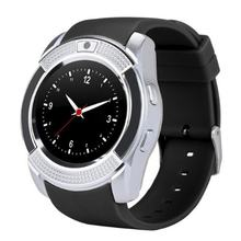 Smart Watch Men with Camera Bluetooth Smartwatch Pedometer Heart Rate Monitor Sim Card Wristwatch HOT SALE(China)