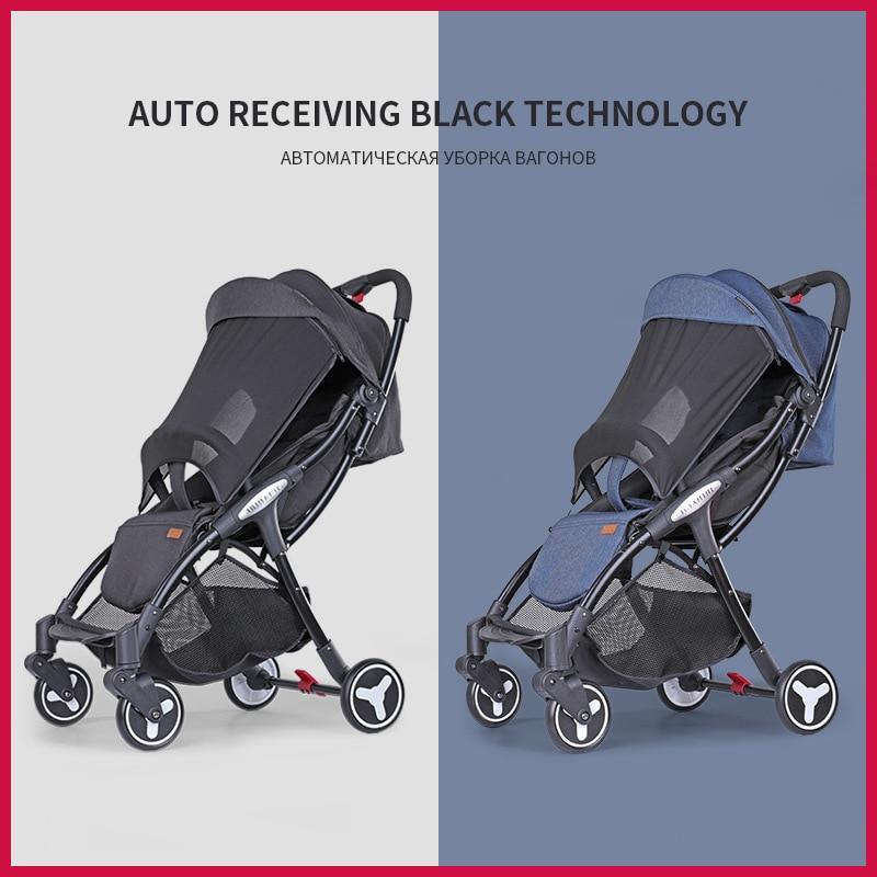 Baby Stroller Light Folding Four-wheeled Cart  Baby Twin Stroller