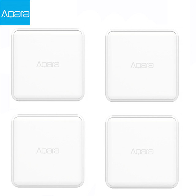Aqara Magic Cube Controller Zigbee Version Controlled by Six Actions For Smart Home Device TV Smart Socket For mi home app