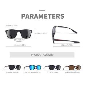 Image 4 - AOFLY DESIGN Ultraleicht TR90 Polarisierte Sonnenbrille Männer Mode Männlichen Sonne Gläser Für Fahren Platz Brillen zonnebril heren UV400