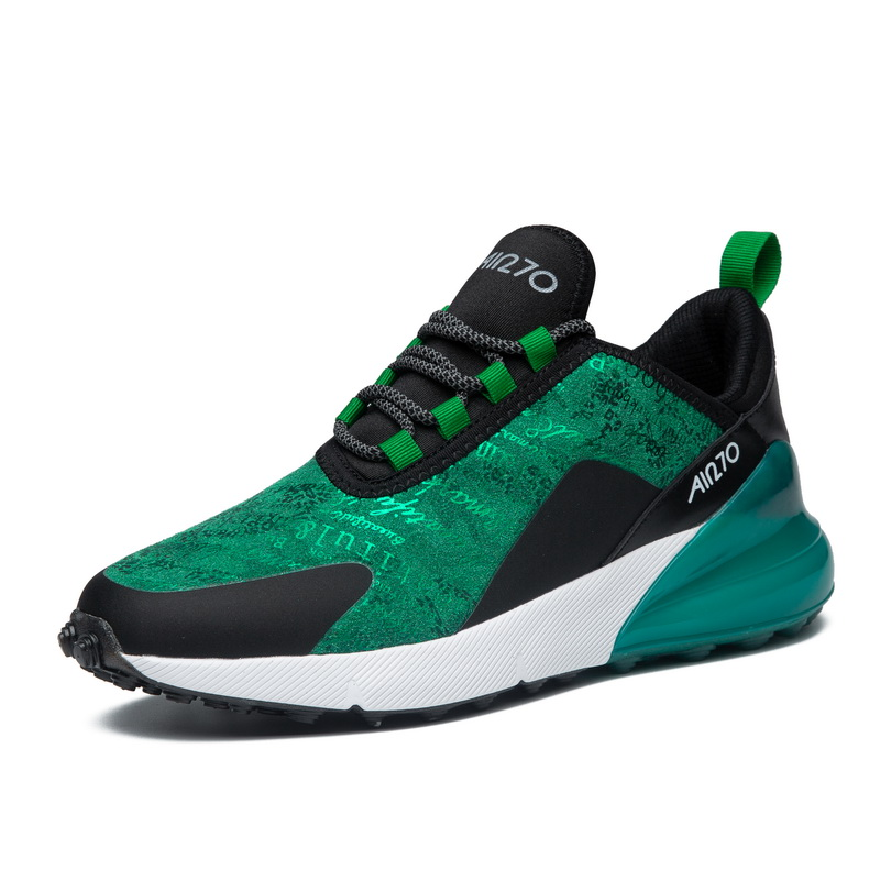 Men Running Shoes Air Sole Green Comfortable Light Mans Sports Footwear Breathable Winter Sneakers For Men deportivas hombre