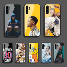 Curry basketball 30 Stephen Phone Tempered Glass Case Cover For Huawei Mate P 10 20 30