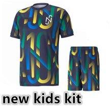 Novo kit de crianças 20 21 psges camisa mtappe neymar qualidade superior cavani verratti dani alves di maria icardi kean 2021 camisa