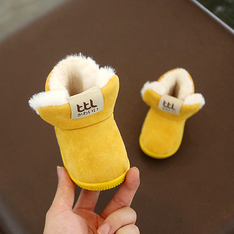 Winter Warm Elastic Band Snow Boots 5