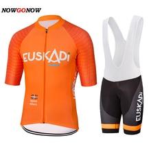 Велосипедная Джерси team orange road mtb pro, Высококачественная велосипедная одежда, гелевая подкладка