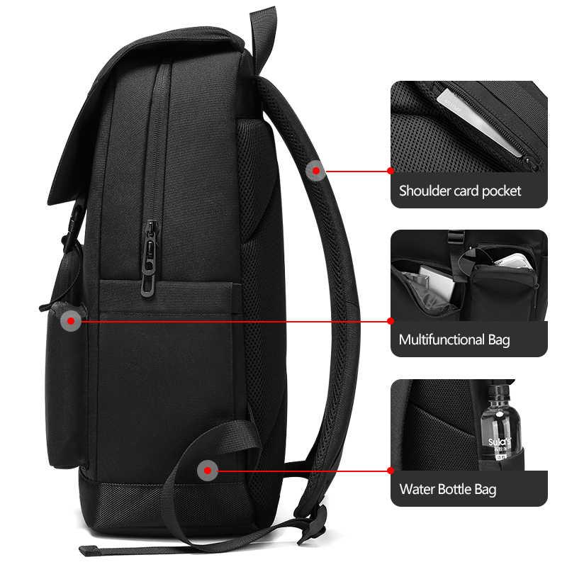 EURCOOL 2019 yeni erkekler 15.6 inç Laptop sırt çantaları okul moda seyahat erkek Mochilas Feminina rahat kadın Schoolbag n1937