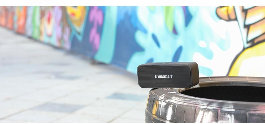 Tronsmart T2 Plus Bluetooth 5.0 Speaker 20W Portable Speaker 24H Column IPX7 Soundbar with TWS,Voice Assistant,Micro SD (8)