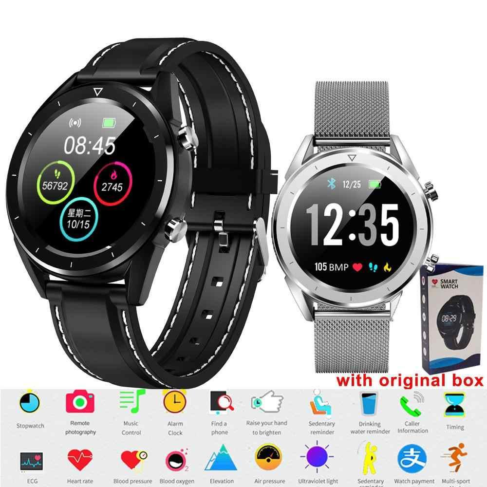 DT28 мужские Смарт-часы IP68 Водонепроницаемые часы для мужчин t ECG монитор сердечного ритма фитнес-трекер наручный браслет для часов спортивные наручные часы