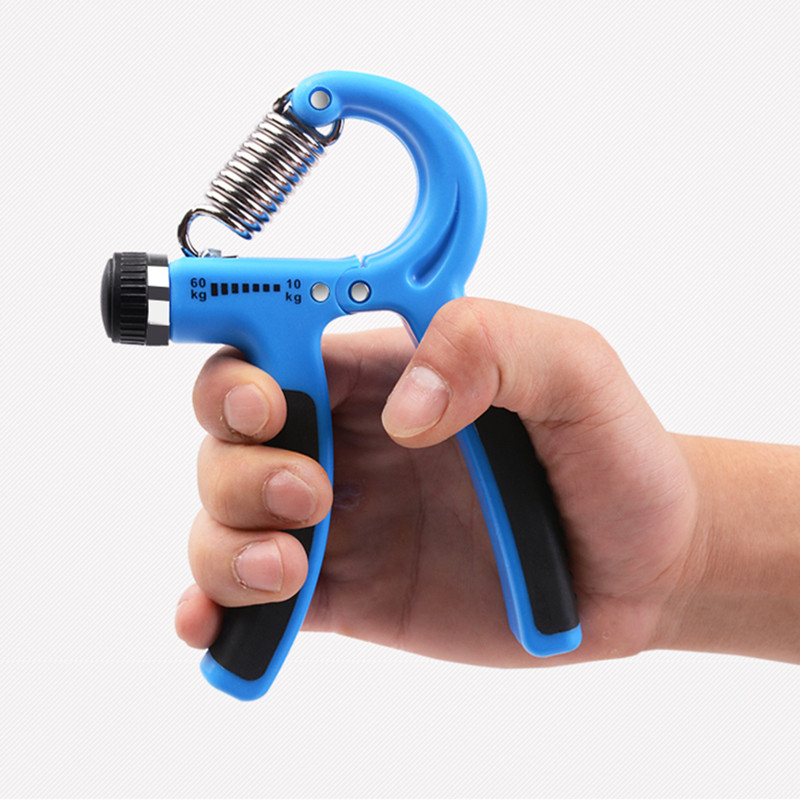 5-60Kg Adjustable Heavy Gripper Fitness Hand Exerciser Grip Wrist Training Increase Strength Spring Finger Pinch Carpal Expander
