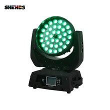 36x15W 5in1 RGBW LED Moving Wash Light With Zoom Dj Disco Club Party Wedding Stage Effect Lighting стоимость
