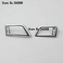 ABS Chrome 2PCS For KIA KX7 2017 2018 2019 Both Sides Air Conditioner Vent Decoration Frame(China)
