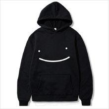 Sonho merch hoodies masculinos smiley face harajuku pulôver sudaderas unisex streetwear roupas 2021 moda casual casacos de grandes dimensões