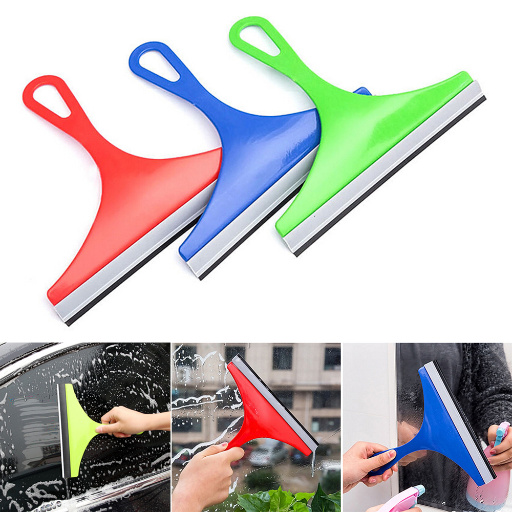 Car Windshield Cleaner Brush Random Color Window Glass Wiper Cleaning Floor Water Wiper Soap Cleaner Windshield Accessories