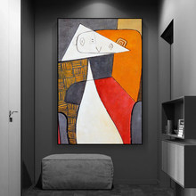 Picasso famous abstract oil paintings on canvas, artwork reproductions, modern posters and prints, murals, home decoration
