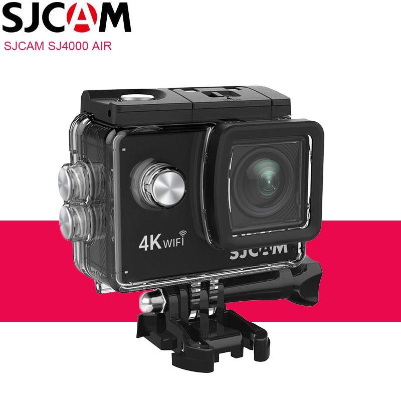 "100% Original SJCAM SJ4000 AIR Action Camera Deportiva WiFi 4K 30FPS 2.0"" Screen Mini Helmet Waterproof Sports DV Full HD Camera"