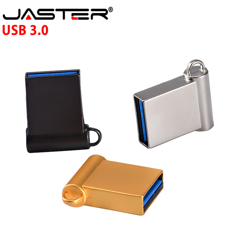 JASTER Mini 3.0 USB Flash Drive 4GB 8G 16G 32G 64G Pendrive Metal Pen Drive High Speed USB Stick USB Flash(over 10PCS Free Logo)