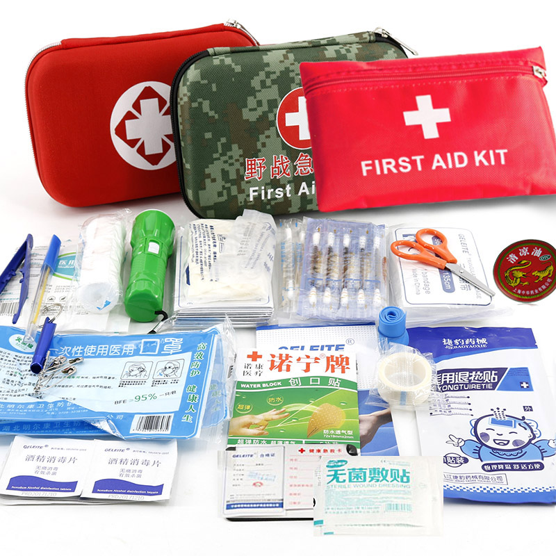 First-Aid-Kit Emergency-Survival-Bag Outdoor Mini Medical Kit Sport Car Family Travel Home Car Essential