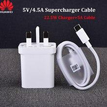 Huawei original 5v/4.5a supercharge cabo 5a tipo c cabo usb para p9 p10 plus p20 p30 p40 pro companheiro 9 10 20 pro honra 10 v10 20