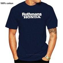 Tshirt rothmans team look vintage gp500 nsr vfr rvf solto preto t camisas homme