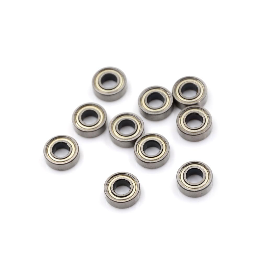 20pcs 693ZZ Miniature Ball Bearings 3*8*4mm Small Double Shielded Bearing riMWI3