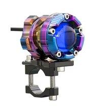 SPIRIT BEAST L1 motocykl oświetlenie dekoracyjne akcesoria reflektor reflektor LED Super jasne światło pomocnicze do modelu DC5 60V