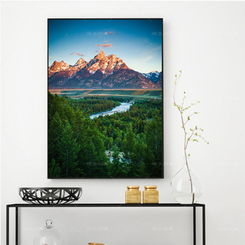 Home Decor Wall Art Beautiful Natural Landscape Picture HD Prints Nordic Poster Modern Canvas Painting Bedroom Living Decor Gift home wall art anime character picture hd prints poster modern canvas painting for baby bedroom living room decor for gift framed