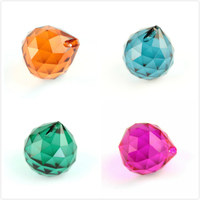 15mm/20mm/30mm/40mm Big Quantity All Colors Crystals Glass Ball For Chandeliers Shinning Prism Suncatcher For Sale