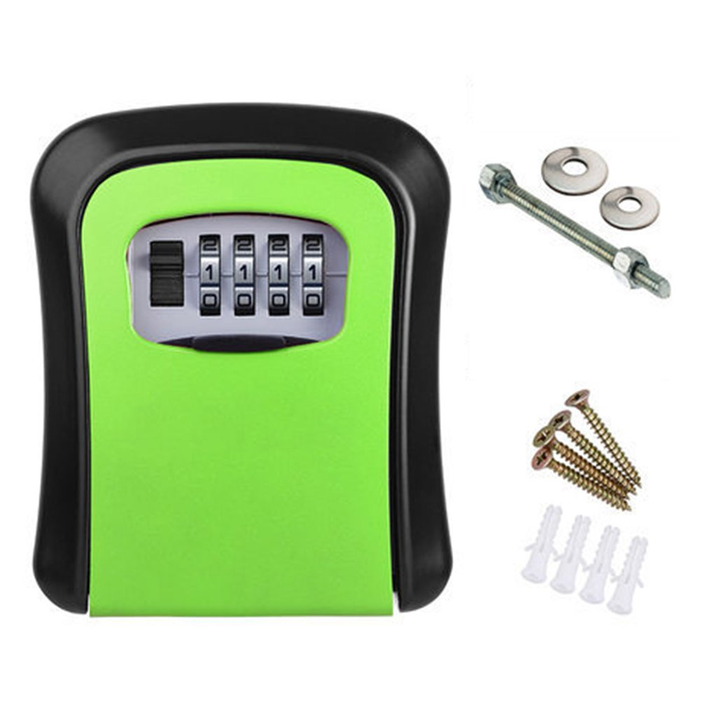Key Card Password Box, Master Key Box, Password Lock, Decorated Cipher Key Box KS008 4 Digit Wall-mounted Curved / / / Home