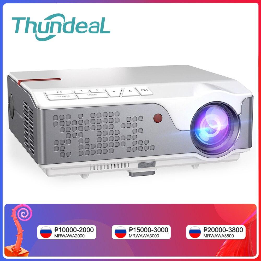 ThundeaL проектор TD96 Full HD 1080P проектор для смартфона TD96W Андроид WiFi LED проэктор 1920x 1080P пикселей 3D телефон домашний кинотеатр Новогодний проектор