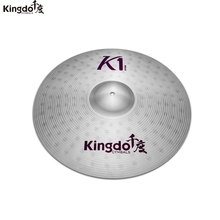 """Kingdo K1 series Cheap practice 20""""ride  cymbals set for drums"""
