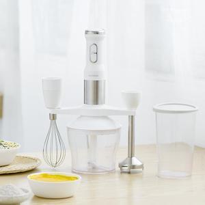 Image 4 - QCOOKER CD HB01 ручной блендер с электрической чашкой, кухонный портативный кухонный комбайн, миксер, соковыжималка, овощи, готовка, многофункциональный быстрый