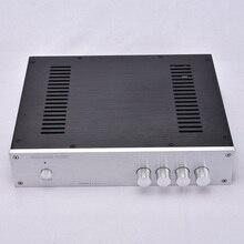 KYYSLB carcasa de amplificador de Audio para el hogar chasis de aluminio 3207A, 320x70x248mm, carcasa de amplificador de caja DIY