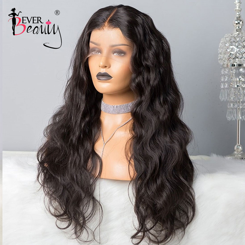 250 Density Body Wave Lace Wig 360 Lace Frontal Wig 13x6 Lace Front Human Hair Fake Scalp Wigs 370 Brazilian Ever Beauty Remy