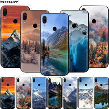 Snowy Mountain Landscape Case for Xiaomi Redmi 4A 4X 5 5A 6 6A 7 7A S2 Note Go K20 Pro Plus Prime 8T(China)